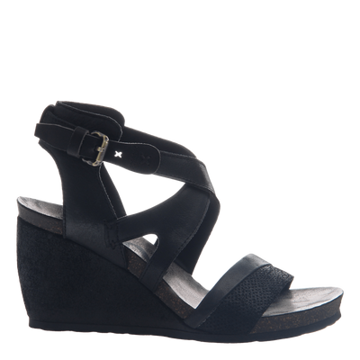 Freedom wedge in black side view
