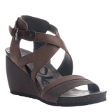 FREEDOM in DUST GREY Wedge Sandals