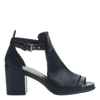 Metaphor women's heel in black outside view
