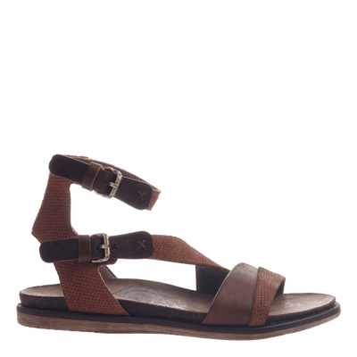 March On women's sandal in Tuscany side view