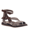March On women's sandal in Grey Silver