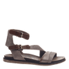 March On women's sandal in Grey Silver outside view