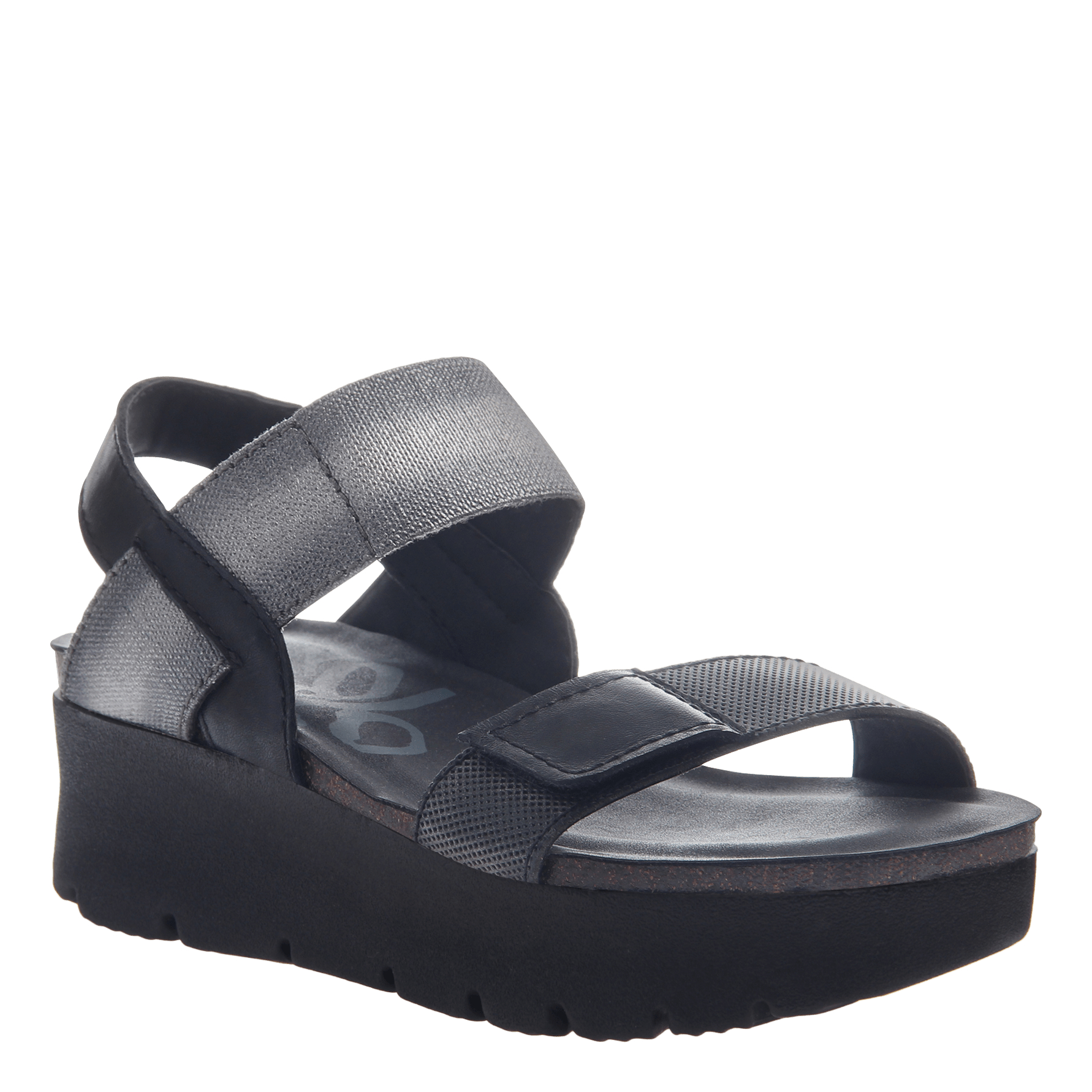 By Nova Otbt In Black W0pxnn8ok Sandalswomen's Wedge Shoes 2D9WHIEY