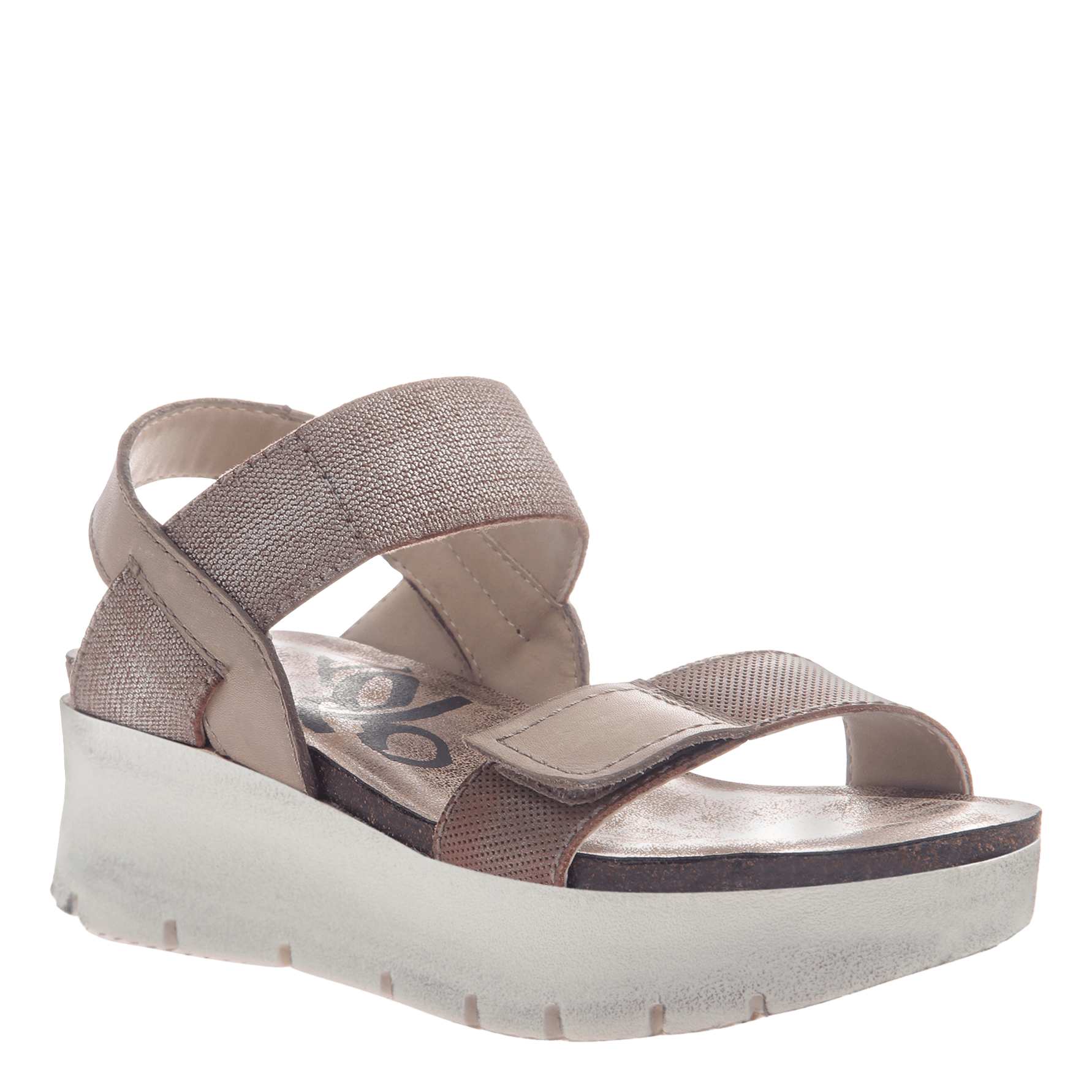 Nova women's sandal in silver