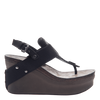 Joyride Women's Wedge in Black side view
