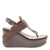 Joyride Women's wedge in Copper  Side view