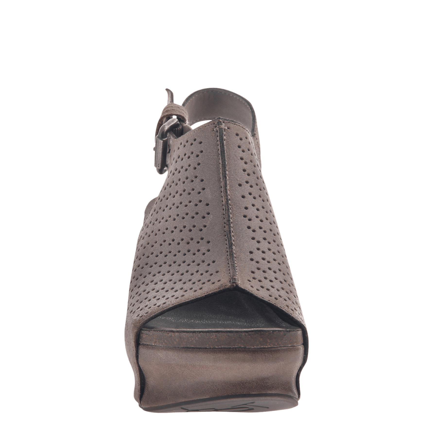 bd6e7a73bde4 Womens platform wedge jaunt in grey pownder front view