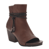 Women open toe ankle boot vagabond in oak