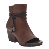 VAGABOND in OAK Open Toe Booties