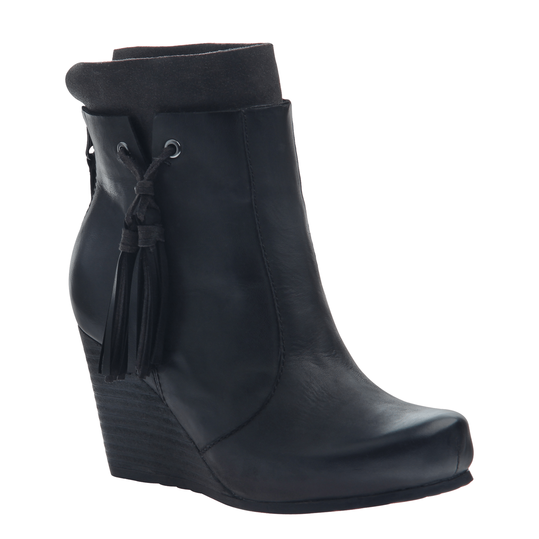 ac7eee247ea VAGARY in BLACK Ankle Boots
