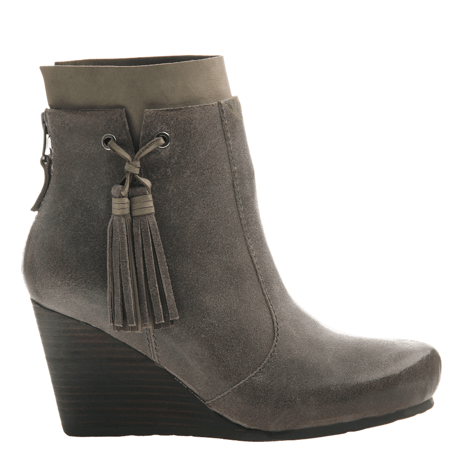 Women's bootie the Vagary in dust grey