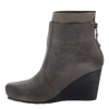 Women's bootie the Vagary in dust grey inside view