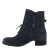 Gallivant women's boot in black  inside view