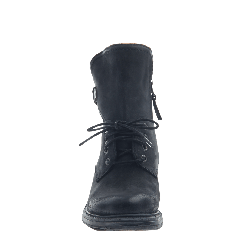 Gallivant in Black Mid-Shaft Boots | Women's Shoes by OTBT