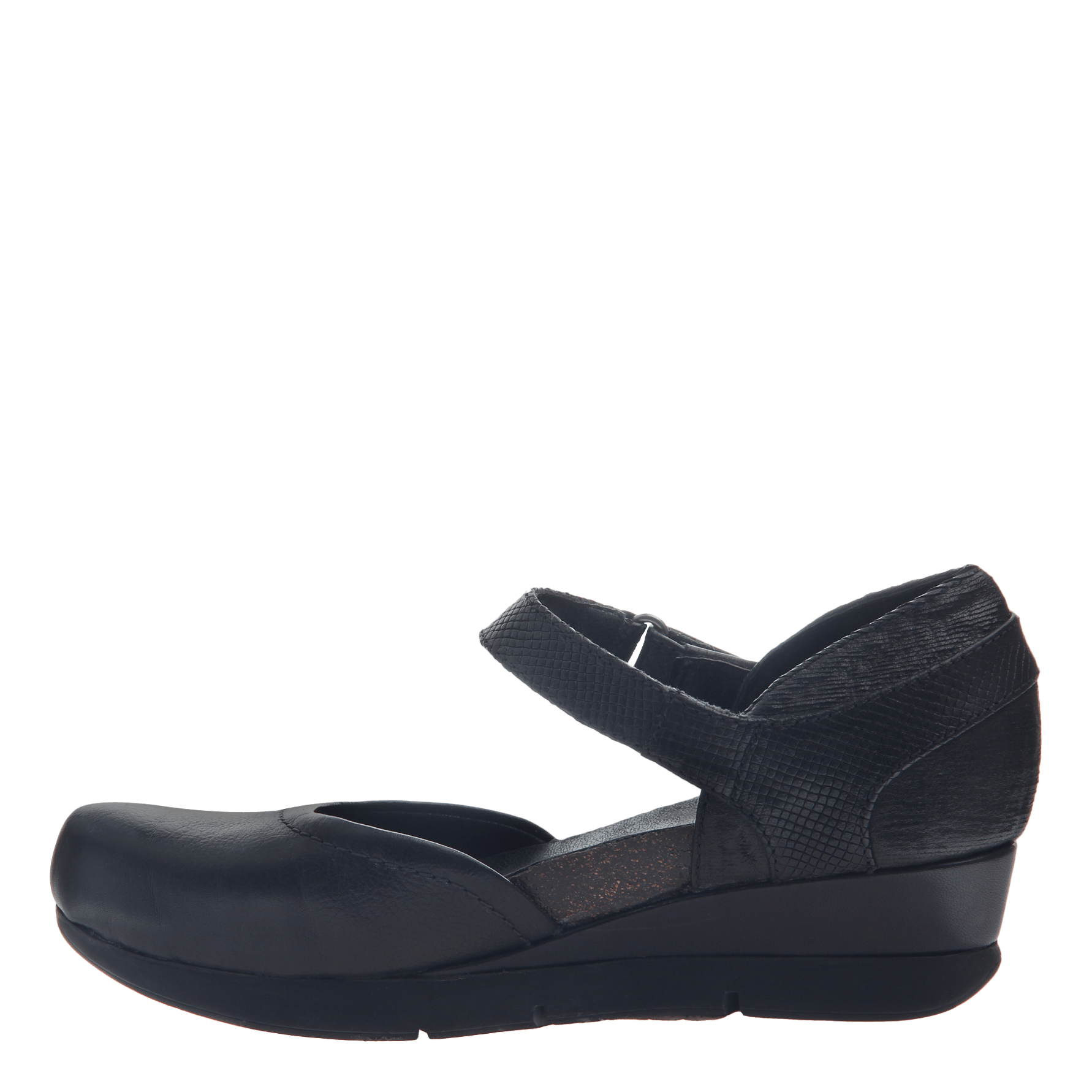 e0c3c7a43b98 Companion in black closed toe wedges womens shoes otbt png 1782x1782 Black  low wedges