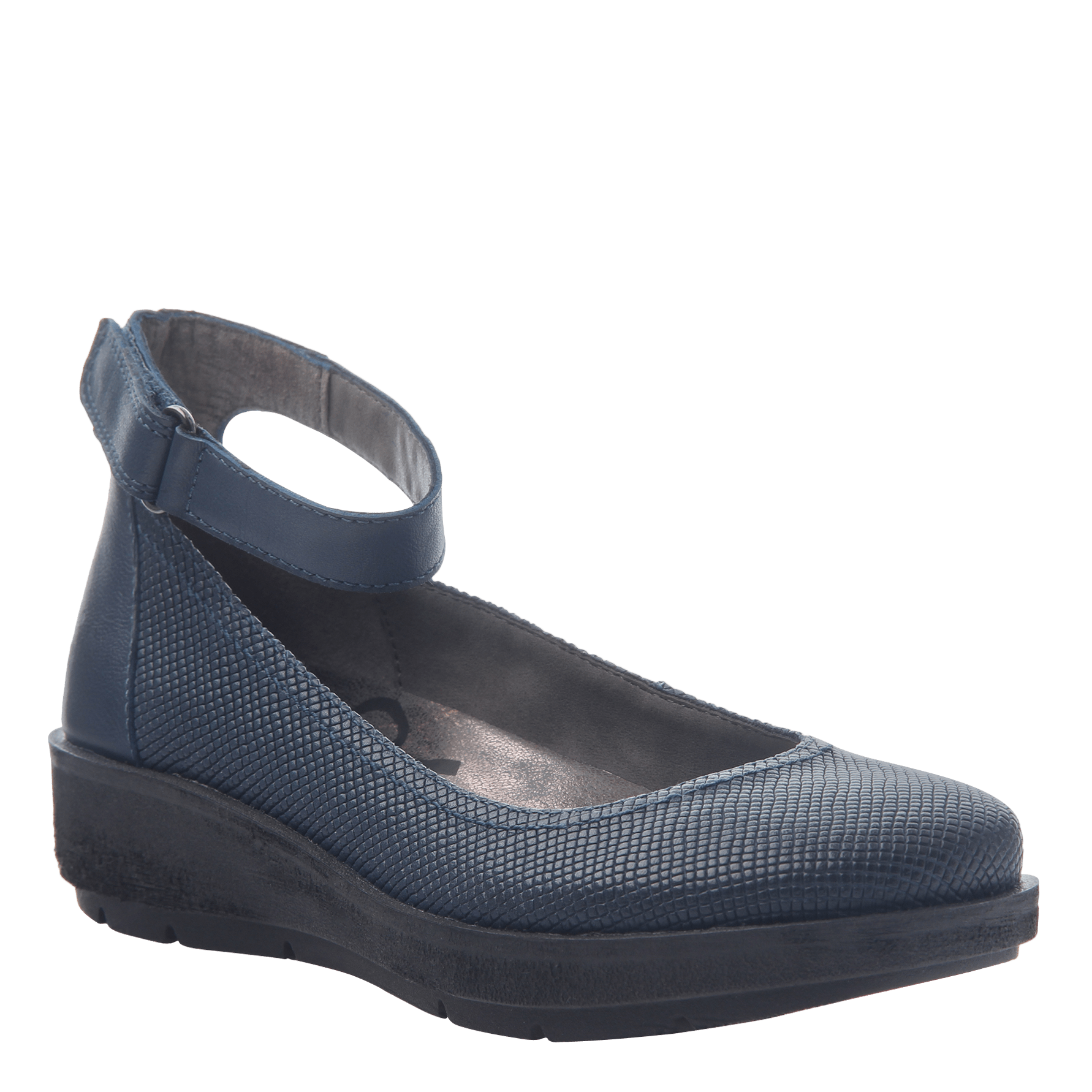 Women's ballet flat the scamper in New Blue