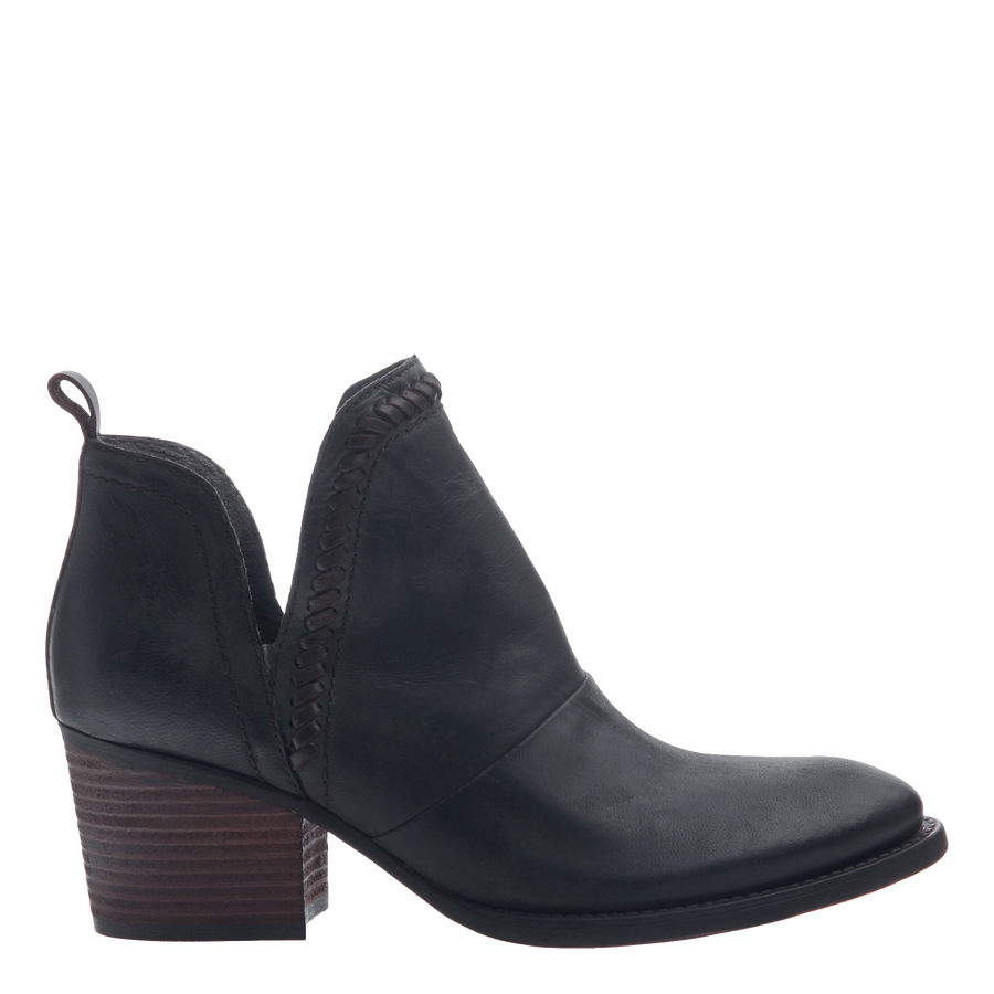 Women's ankle bootie the Venture in Black
