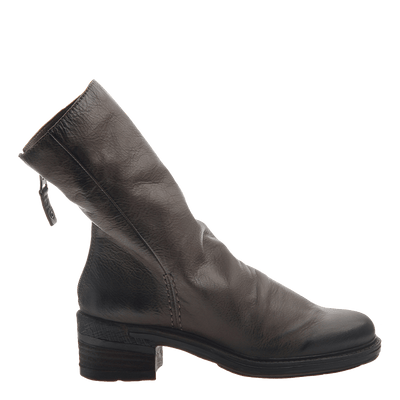 Womens mid-shaft boots Fernweh in mint side