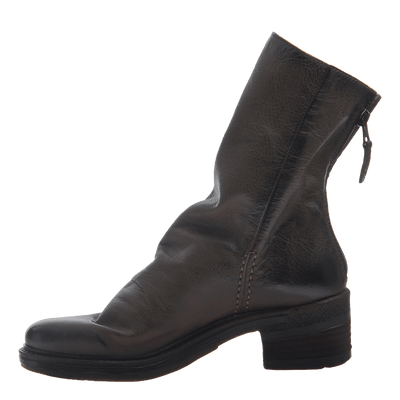 Womens mid-shaft boots Fernweh in mint inside