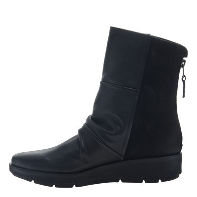 fedc3086659a1 Pilgrim in Black Mid-Shaft Boots | Women's Shoes by OTBT
