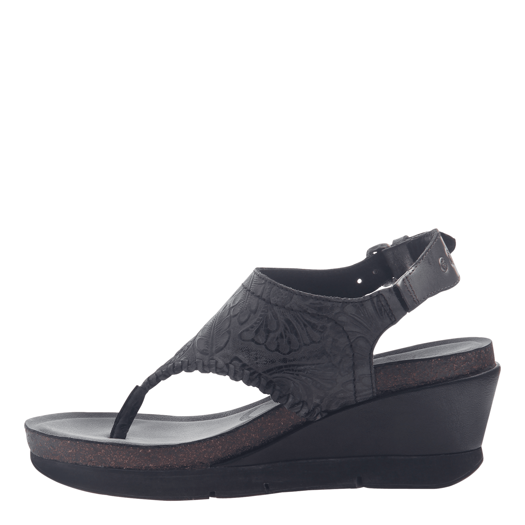 Otbt In Meditate SandalsWomen's Wedge Shoes By Black f6vYgy7b