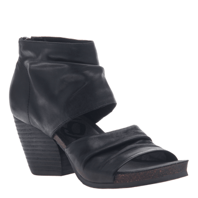 Womens heel sandal patchouli in black