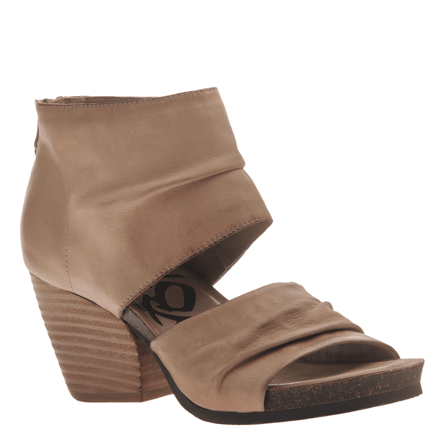 39c5d87dc21 Women s heeled sandal Patchouli in Light Taupe