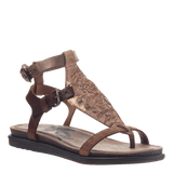 STARGAZE in COPPER Flat Sandals