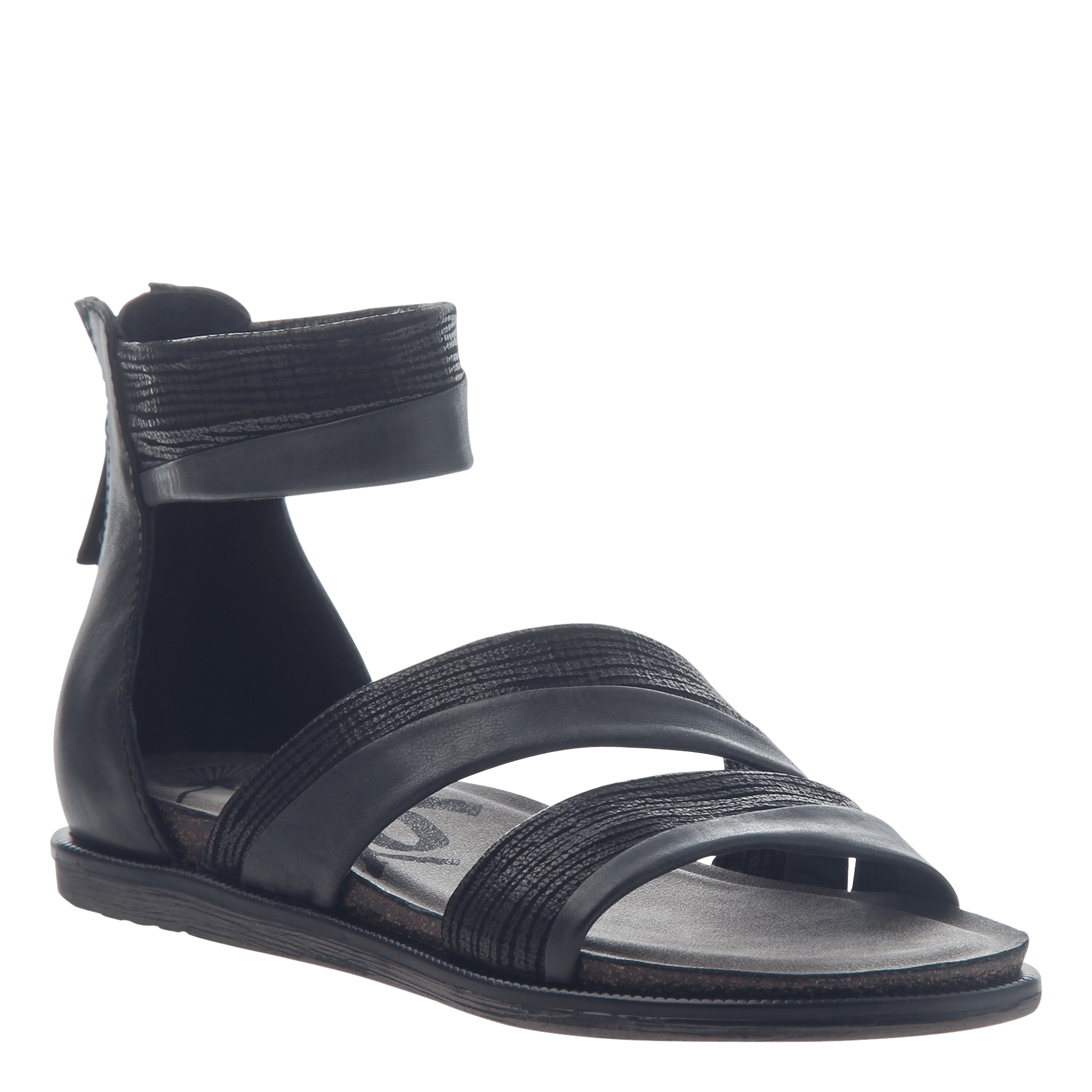 Womens flat sandals Souvenir in Black