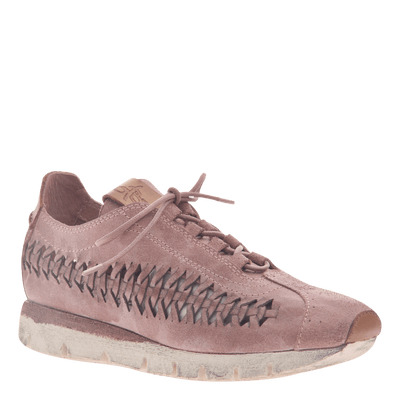 Womens cut out sneaker Nebula in Salmon
