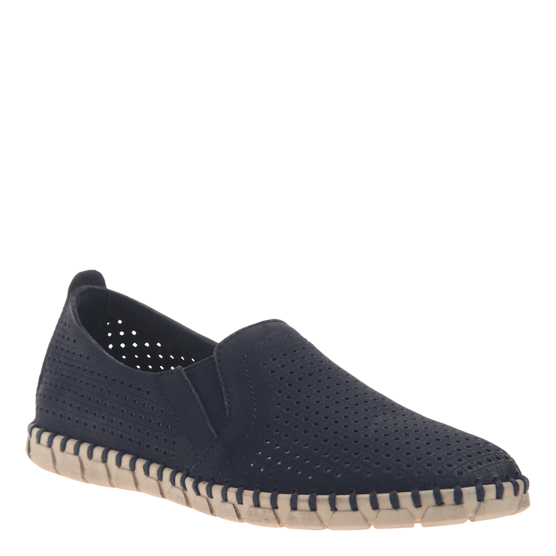 Womens light weight perforated sneakers Universe in Navy