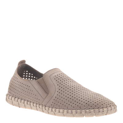 Womens light weight perforated sneakers Universe in Cocoa