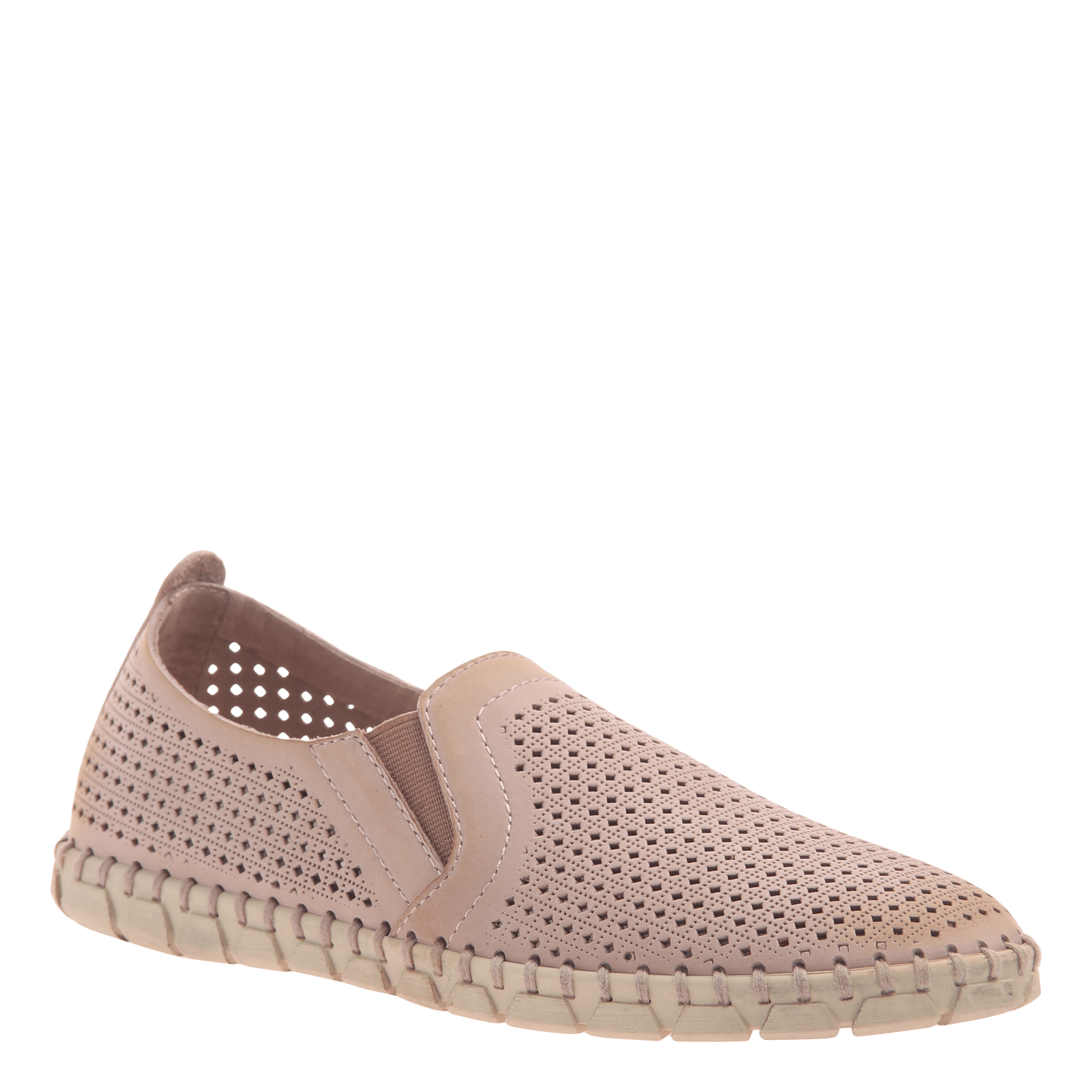 Womens light weight perforated sneakers Universe in Warm Pink