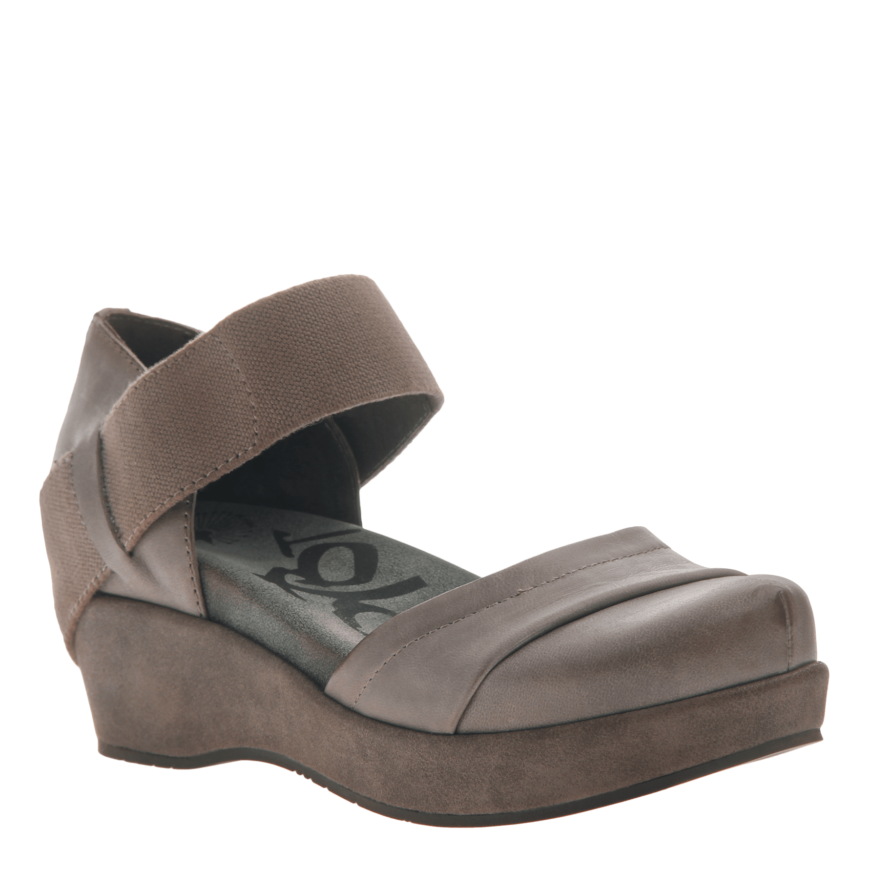 5a5dd5a1eb3 Womens closed toe wedges wander out in Zinc