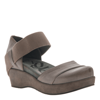 2017ba74d8e Wander Out in Zinc Closed Toe Wedges | Women's Shoes by OTBT