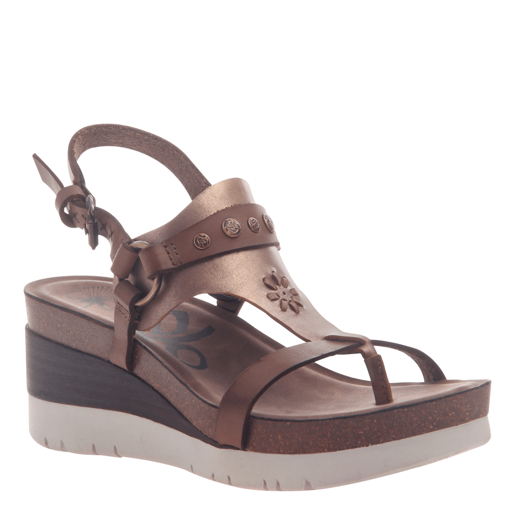 Womens maverick dark brown sandals