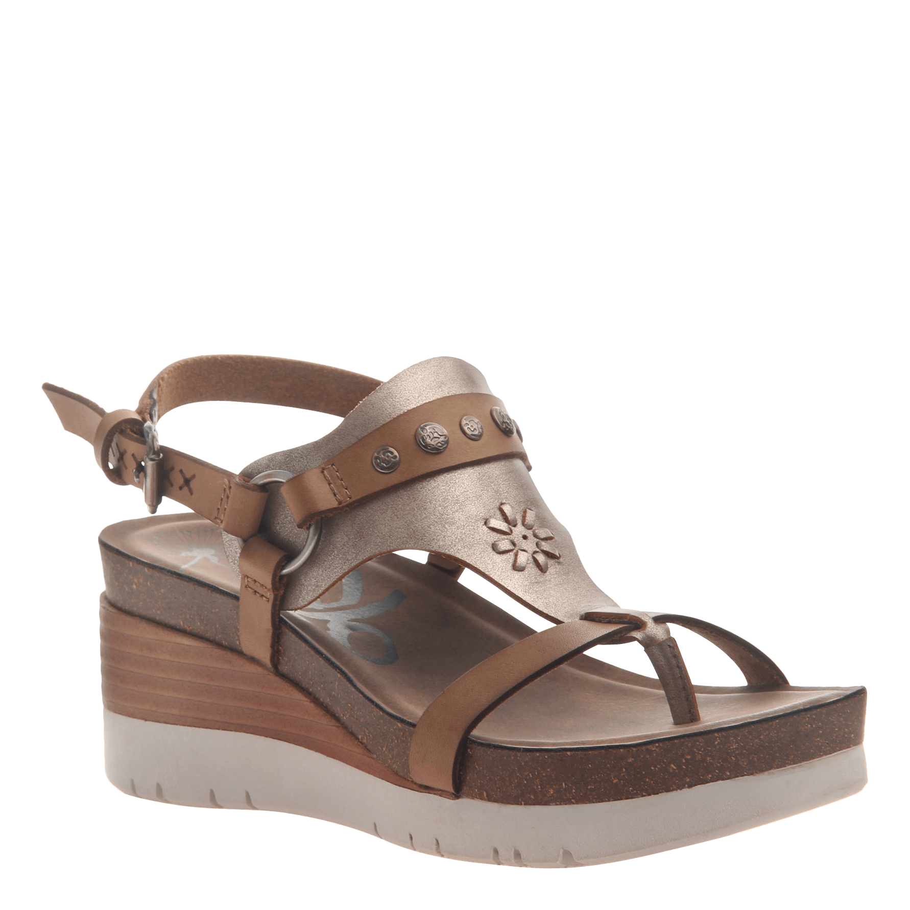 48f37e71863 Maverick in New Taupe Wedge Sandals