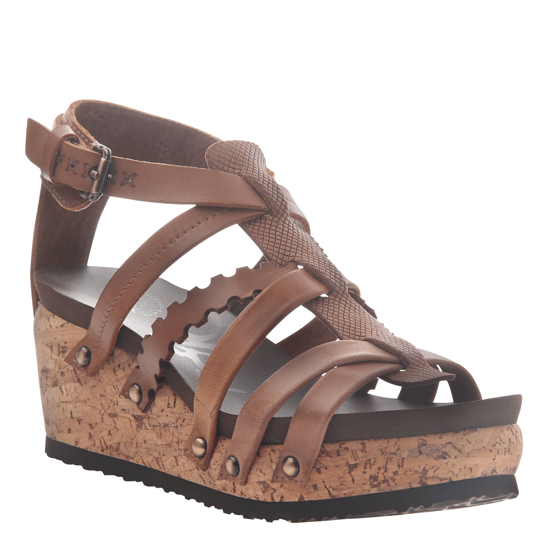 9ef1922d4104 Womens wedge gladiator sandal storm in New Brown