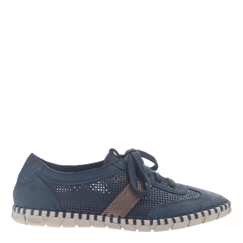 Womens flex sneaker comet in marine
