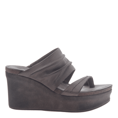 5d7aaaa0b49 Womens wedge tailgate in Zinc side view