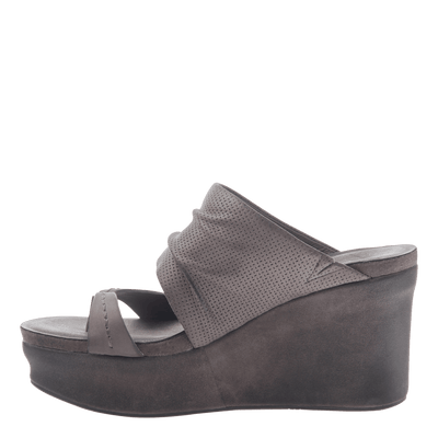 0cfc0728983 Womens wedge tailgate in Zinc inside view