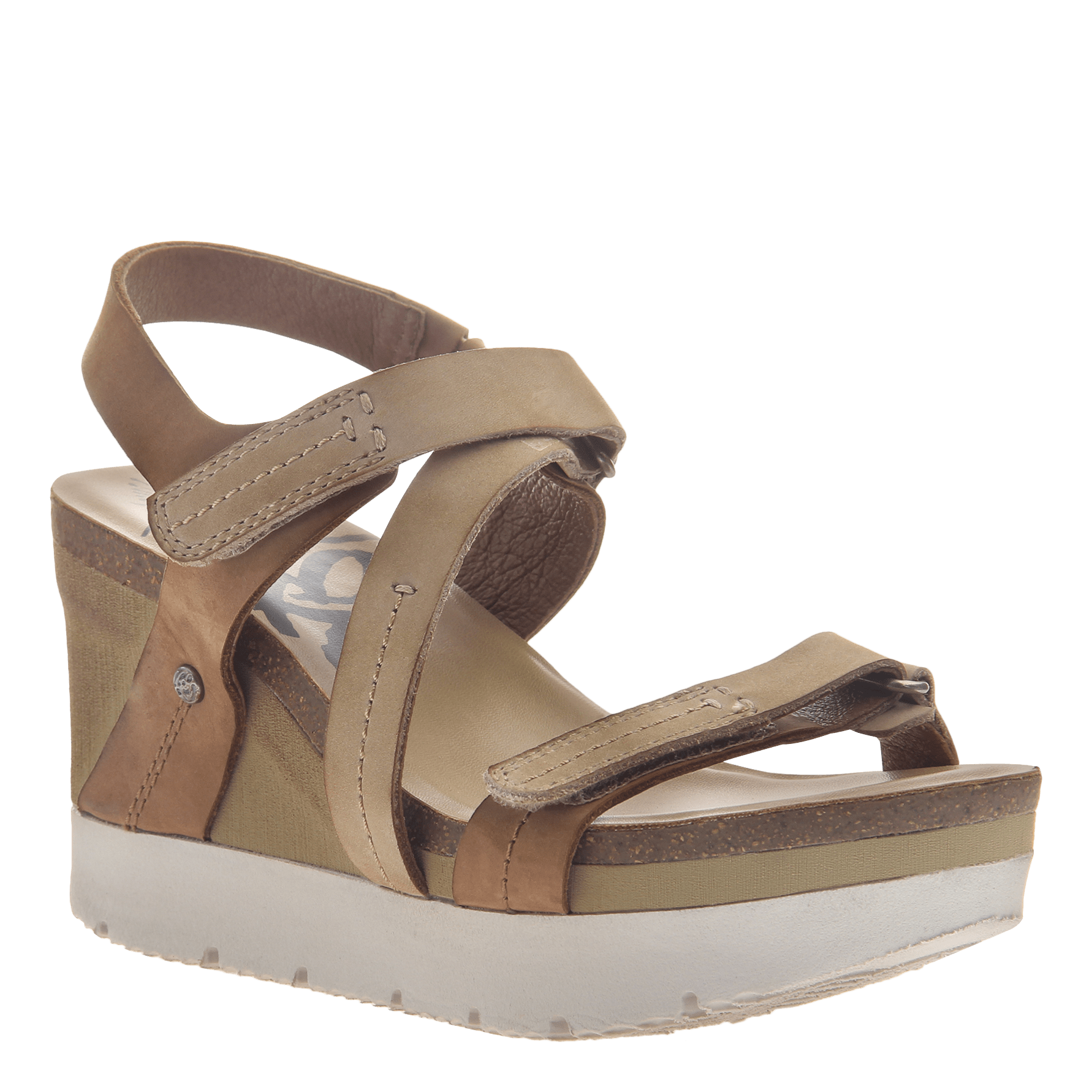 fda20fbc50f Womens wedge sandals wavey in Mid Brown