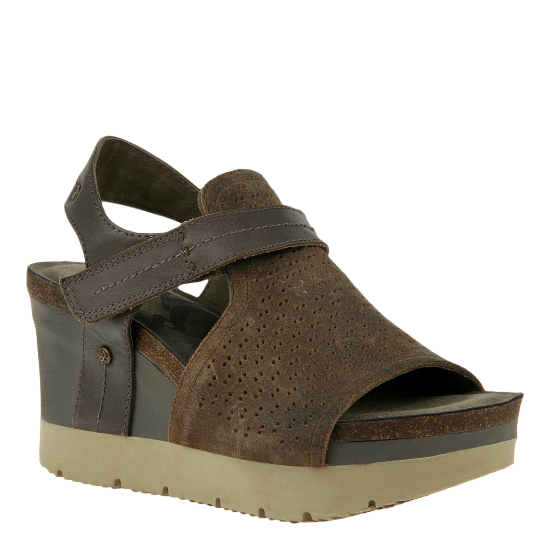 OTBT Womens Wedge Sandal Waypoint in mint