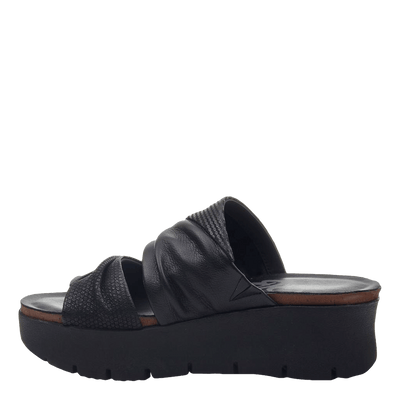 Womens wedge sandals Weekend in black inside