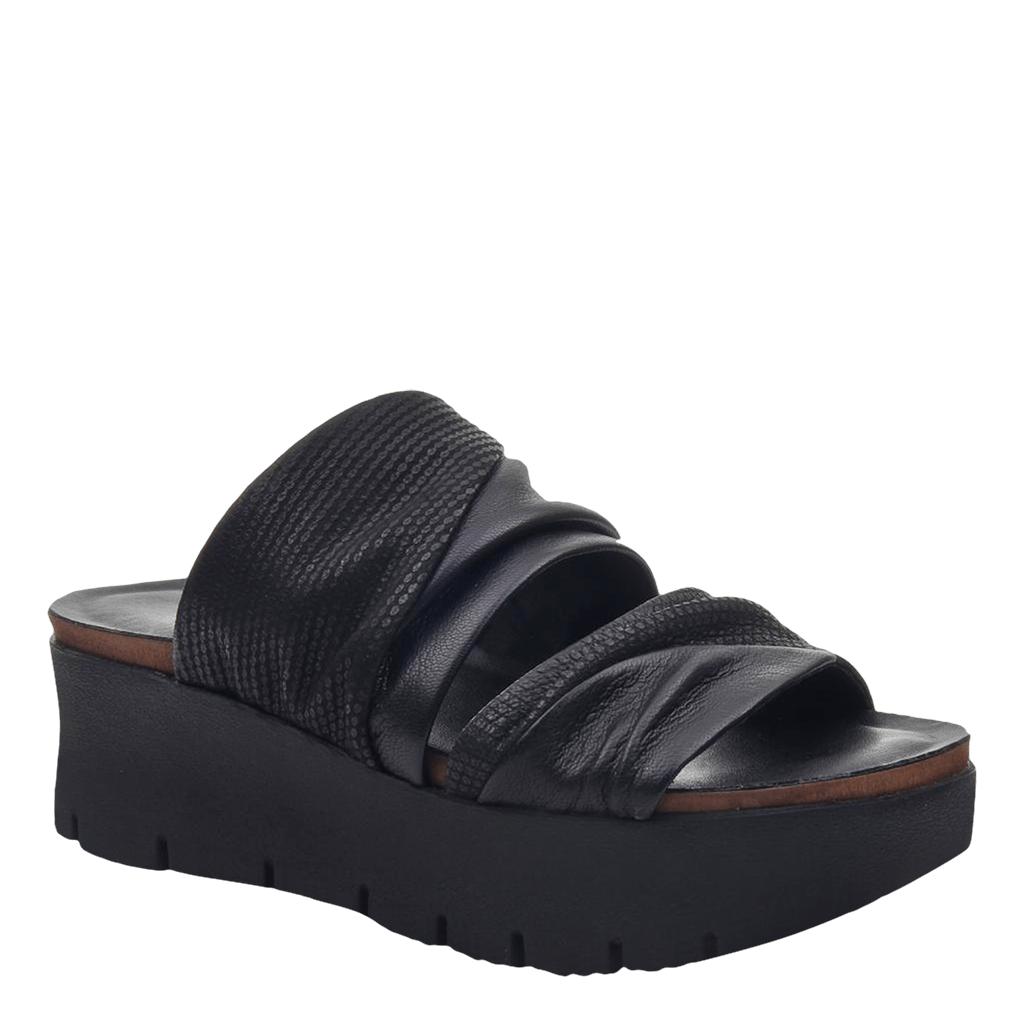 Womens wedge sandals Weekend in black