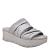 Womens wedge sandal Weekend in dove grey