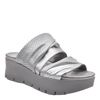 Womens wedge sandals Weekend in silver