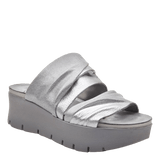WEEKEND in SILVER Wedge Sandals