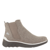 Womens cold weather boot wilderness in taupe side view