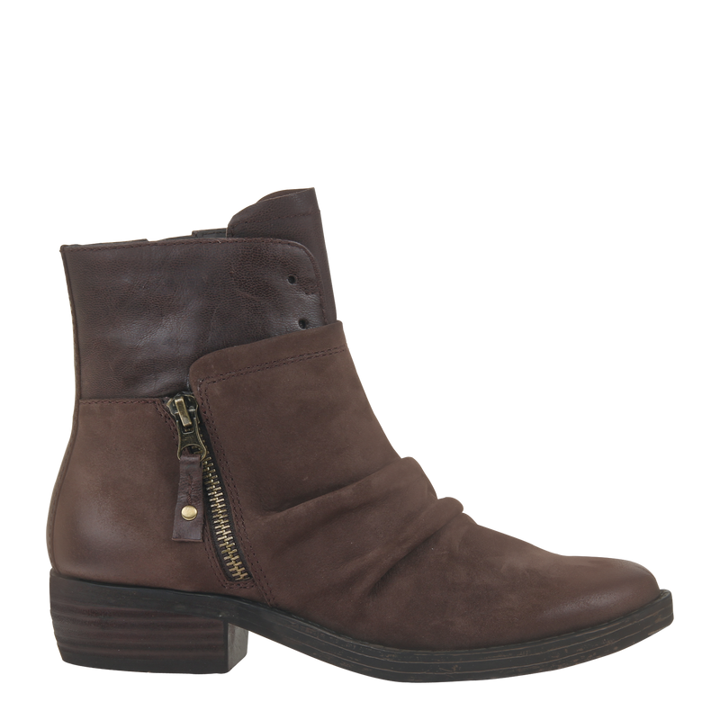 Womens ankle boot yokel in dark Brown